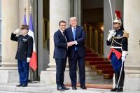 Trump-Macron, uno strano connubio