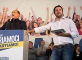 Il povero Salvini e l'incontenibile Berlusconi