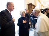 Erdogan, visita a senso unico