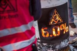 Un presidio del sindacato IG Metall