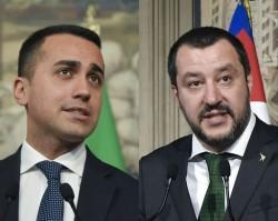 Luigi Di Maio, Matteo Salvini
