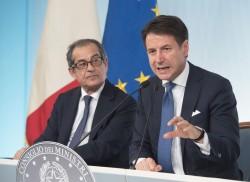 Giovanni Tria e Giuseppe Conte