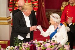 La fiaba di Donald a palazzo