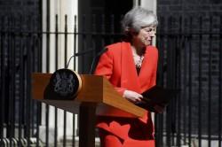 Il triste addio di Theresa