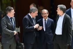 Una recente riunione dell'Eurogruppo