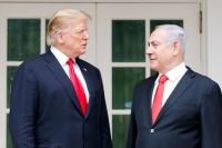 La partita di Bibi e la mosca cieca di Donald