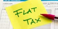 Non regge la flat tax