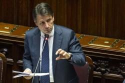 Giuseppe Conte alla Camera