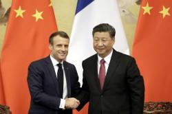 Il clima fra Trump e Xi Jinping-Macron