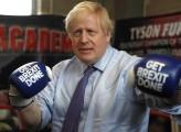 Boris a valanga, Brexit vicina