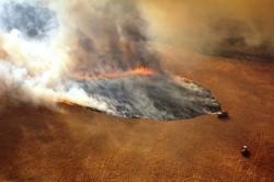 Gli incendi nello Stato di Victoria