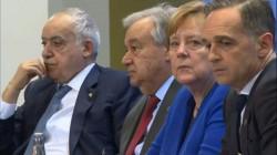 Un momento della Conferenza di Berlino