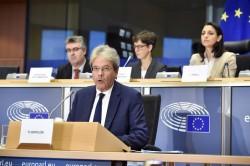 Gentiloni: Su webtax accordo globale entro l'anno o Ue andrà avanti da sola