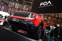 Un'auto del gruppo Fca