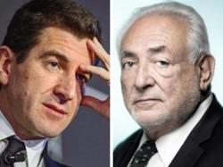 Matthieu Pigasse e Dominique Strauss-Kahn