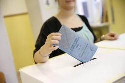 Un seggio elettorale