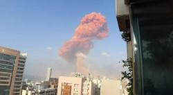 L'esplosione a Beirut