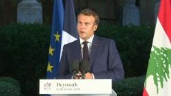 Emmanuel Macron a Beirut