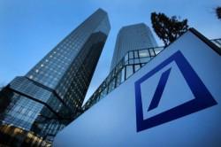 Il logo della Deutsche Bank