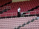 Il Covid negli stadi di calcio