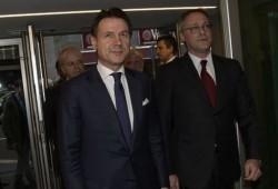 Giuseppe Conte e Carlo Bonomi