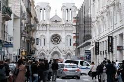 La cattedrale di Notre Dame a Nizza