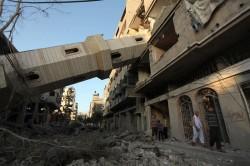 La Striscia di Gaza dopo i raid israeliani del 2014