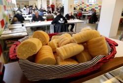 Una mensa dei poveri a Milano