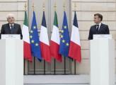 Mattarella e Macron rilanciano la collaborazione italo-francese