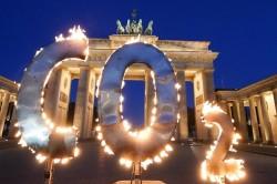 Una manifestazione per il clima a Berlinno